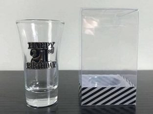Premium 21st Birthday Shot Glass