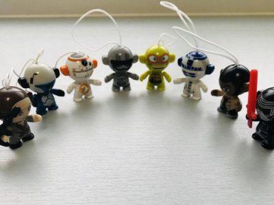 Star Wars Kinder Egg Toys