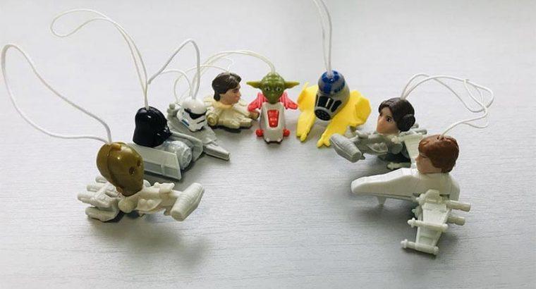 Star Wars Kinder Egg Toys Set