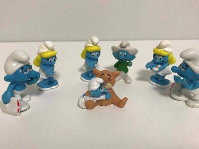 Kinder Surprise Toys / Smurfs Toys Collection