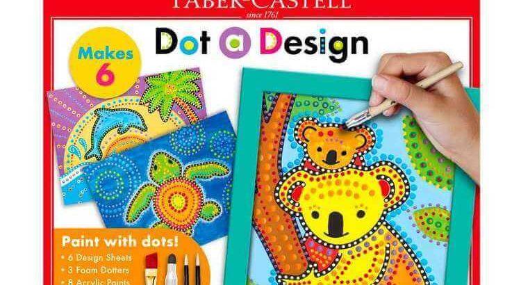 Faber Castell Dot a Design Kit Animals
