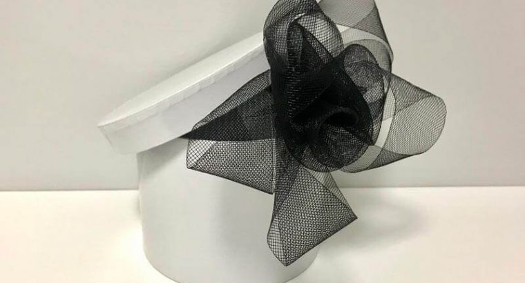 Black Women's Fascinator for Hair in a Box