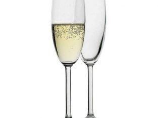 Set of 12 Classic Champagne Glasses