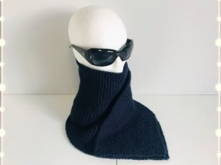 Handmade Knitted Scarf for Man