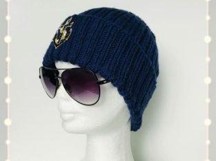 Handmade Knitted Hat for Man