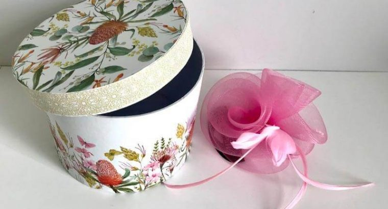 Women's Fascinator for Hair in a Box