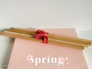 Eco Wooden Sticks for Handmade