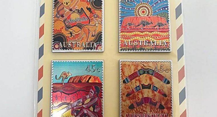 Australia Fridge Magnet Set of 6