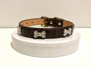 Luxury Dog Collar with Rhinestones