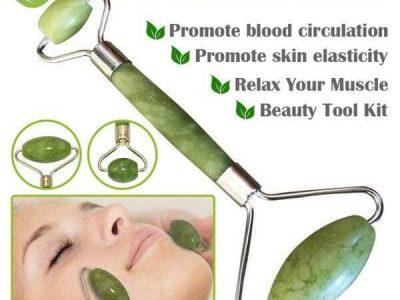 100 % All Natural Jade Facial Roller