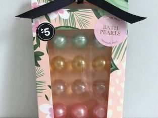 Bath Pearls Tropical Fruit 12 pcs