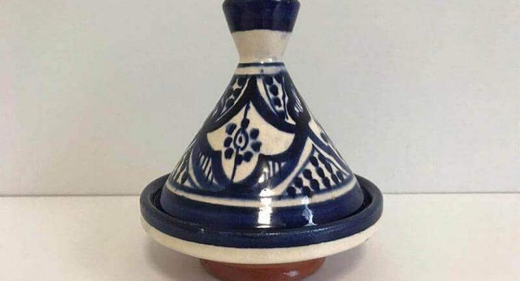 An Authentic Moroccan Tagine/ Ceramics