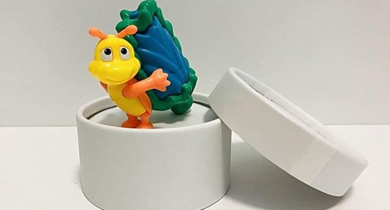 Collectible Kinder Surprise Toy Caterpillar