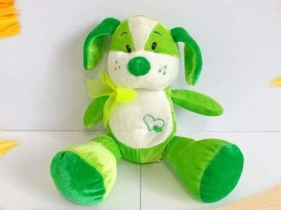 FOR FREE/ Two Soft Toys Dog & Frog