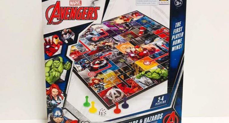 Marvel Avengers Snakes & Ladders Board Game