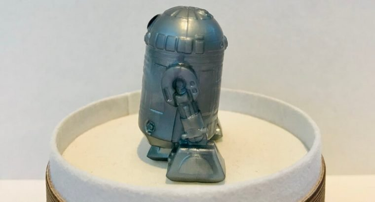 Ooshies Collectables Toys/ Silver R2-D2