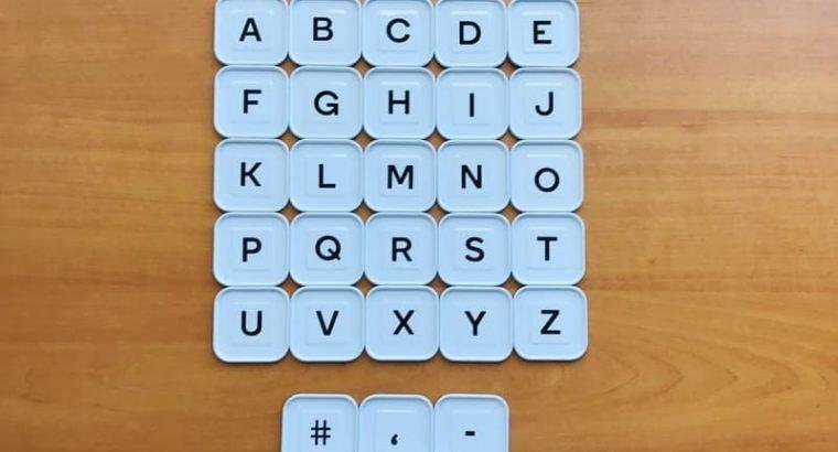Woolworths Disney Words Tiles