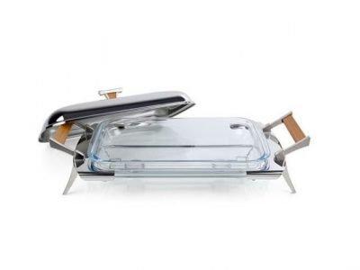Luxury Hot Pan Grigio 53х26х18 см/ Rectangular